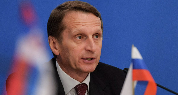 Naryshkin confirmed that the Russian delegation will not attend the PACE session
