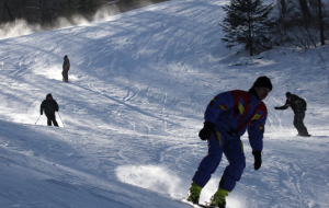 "In Kuzbas with support from SUEK is implementing the program ""Skis Dreams"""