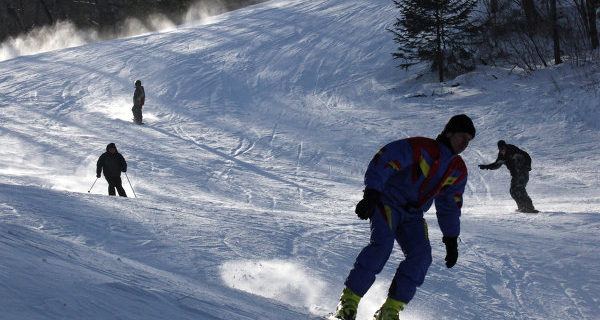 """In Kuzbas with support from SUEK is implementing the program """"Skis Dreams"""""""