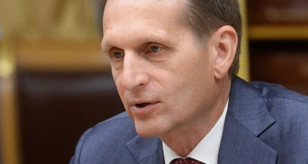 Naryshkin informed the Council of the state Duma that Russia is not going at the PACE session in January