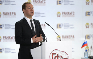 Medvedev said the main task of the Russian authorities