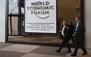 On another forum in Davos was the lead oil and sanctions