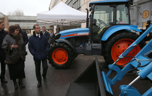 Medvedev: in 2016 on agricultural machinery will allocate 10 billion roubles