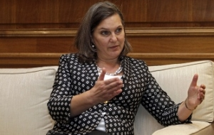 Consultation Nuland and Surkov on the Minsk agreement ended