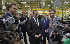 Medvedev signed a decree on supporting the automotive industry of the Russian Federation for 2016