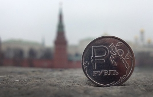 The ruble steadily adjusted upwards after oil