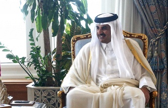 Putin will discuss with the Emir of Qatar the situation in the middle East and bilateral relations