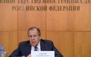 Lavrov: there can be no question of returning Crimea to Ukraine
