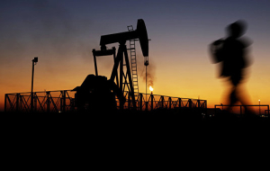 The price of April futures for Brent crude oil rose above $34