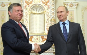 Putin and Jordan's king stressed the necessity of consolidation.