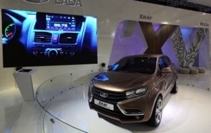 "Medvedev swept through the plant ""AVTOVAZ"" for car LADA XRAY"