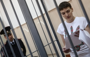 UPC: Savchenko continues to starve and so far feels normal