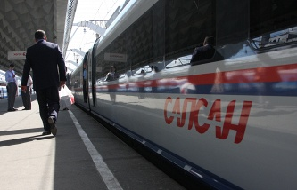 """""""Swifts"""" on the route Moscow – Nizhny Novgorod transported 70% more people than the """"peregrine"""""""