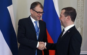 The President discussed with the Prime Minister of Finland Syria, Ukraine and migrants