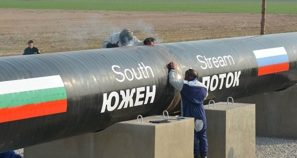 The media reported plans to resume the construction of South stream