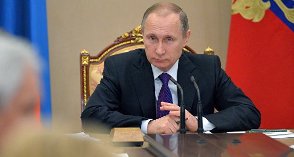 Putin on Friday will hold a meeting with the head of the Ministry of industry and trade