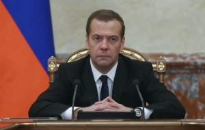 Medvedev invited the Cabinet to discuss the budget behind closed doors