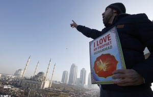 In Grozny held a rally in support of the leadership of the Russian Federation and the Republic