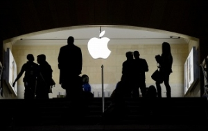 Apple has announced record profits for the first fiscal quarter