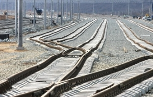 "In Ukraine said that the train, sent by the ""silk road"", reached the border of China"