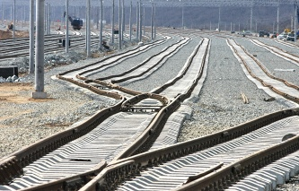 """In Ukraine said that the train, sent by the """"silk road"""", reached the border of China"""