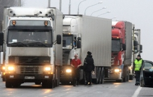 """Red light for heavy trucks"", Ukraine begins and she accuses Russia"