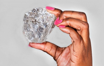 In Yakutia have found a diamond weighing carats 121,96
