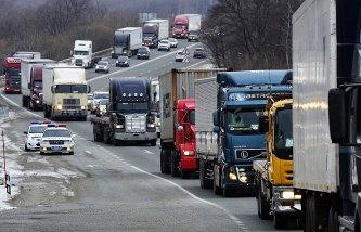 "The Agency does not record decrease in traffic of heavy trucks using the system ""Platon"""