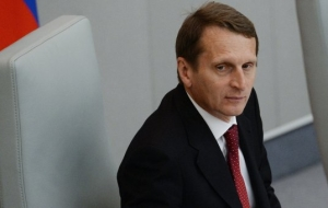 Naryshkin: the parliamentarians are interested in the study of the problem of sanctions