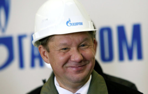 B: Miller will remain head of Gazprom for another five years