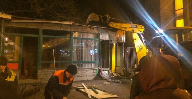 In Moscow began a large-scale demolition of the retail pavilions
