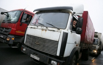 Russian transport Ministry plans to negotiate with Poland for road transport