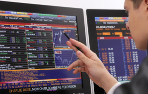 The Russian stock market declined amid falling ruble