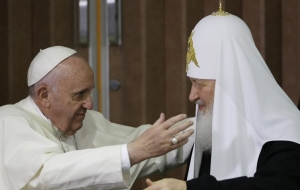 Medvedev called a meeting between Patriarch Kirill and Pope striking example of the convergence of the parties