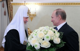 Medvedev congratulated Patriarch Kirill on the anniversary of his enthronement