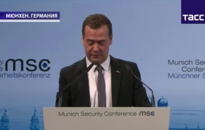 "Medvedev: the West needs to ""think big"" and to cooperate with Russia in fight against terrorism"