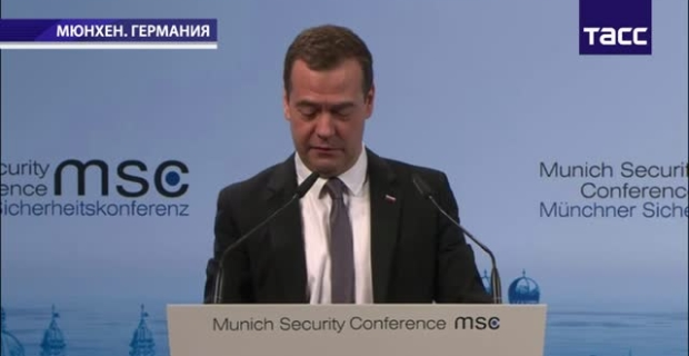 """Medvedev: the West needs to """"think big"""" and to cooperate with Russia in fight against terrorism"""