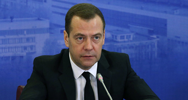 """Medvedev said that he had """"constant drive"""" at work"""