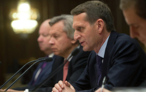 Naryshkin: Russia is a key protector of international law