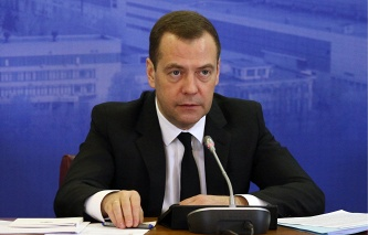 Medvedev: the ruble weakening to boost exports of engineering products