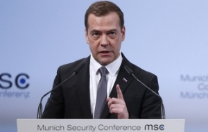 Medvedev commended the Munich agreement on the Syrian settlement