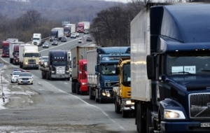 The tariff for of heavy vehicles for travel on Federal highways since March 1 will not increase