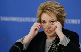 Matvienko: Palestine is definitely and firmly supported the actions of the Russian Federation in Syria