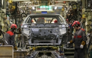 Study: car plants of St. Petersburg in January, has reduced production by almost half