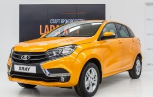 AvtoVAZ plans to sell LADA XRay 16-25 thousand in 2016