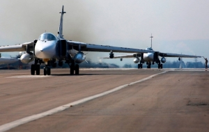 Russian su-35 will be in pairs to carry the clock duty at the airbase Hamim in Syria