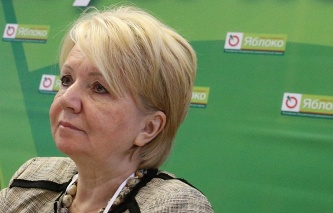 "The leader of the ""Yabloko"" Emilia Slabunov will go to elections in the state Duma on the party list of"