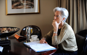 Lagarde has predicted developing countries a series of crises