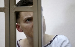 Zakharova called hypocrisy a hunger strike MEPs in support of Nadiya Savchenko