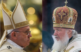 Sands: the Kremlin is not involved in the preparation of the meeting between Patriarch Kirill and Pope